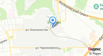 АЯН+Екатеринбург на карте