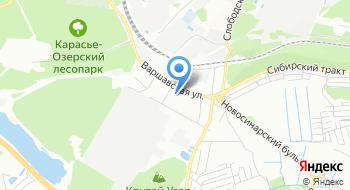 Культурно-досуговый центр на Варшавской на карте