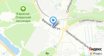 НПКФ Уралспецавтоматика на карте