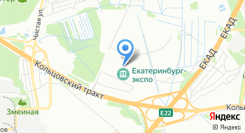 Международный выставочный центр Екатеринбург-Экспо на карте