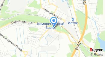 ФГКУ Уральский региональный поисково-спасательный отряд МЧС России на карте