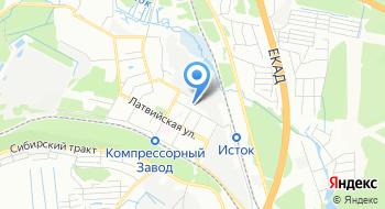 """АО """"НПП """"Старт"""" им. А. И. Яскина"""" на карте"""