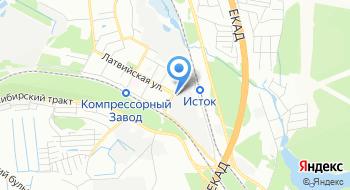 Компрессорный завод УКЗ на карте
