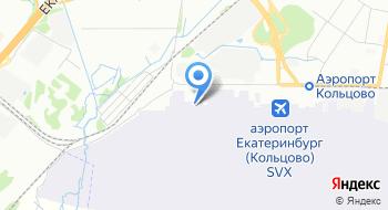 Аэропорт Кольцово Грузовой комплекс на карте