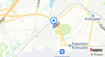 Октябрьский таможенный пост на карте