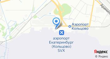 Авиапочта Урала на карте