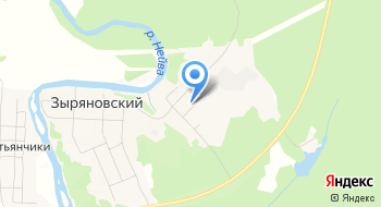 Мкук Дом культуры п. Зыряновский на карте