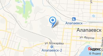 Алапаевск-мебель на карте