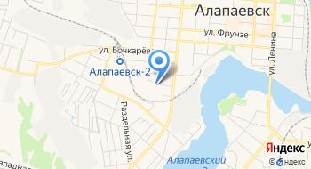 Алапаевский РОСП на карте