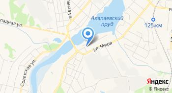 Отделение почтовой связи Алапаевск 624603 на карте