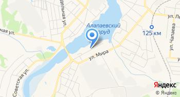 Учебный корпус ГБОУ СПО Алапаевский филиал Свердловский областной медицинский колледж на карте