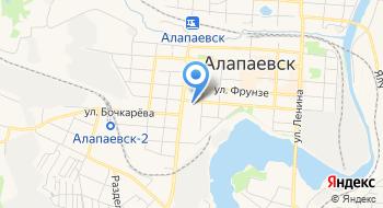 Следственный отдел по г. Алапаевск Следственное управление Следственного комитета РФ по Свердловской области на карте