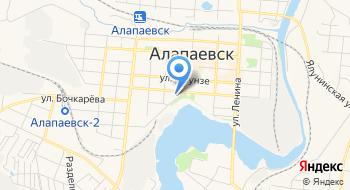 УПФР в г. Алапаевске и Алапаевском районе на карте