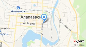 Уральский федеральный университет им.Ельцина, Филиал на карте