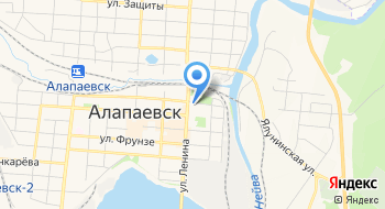 Алапаевский головной на карте