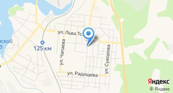 Отделение почтовой связи Алапаевск 624602 на карте
