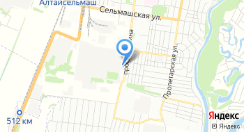 ДиалогСибирь-Барнаул Рубцовский филиал на карте