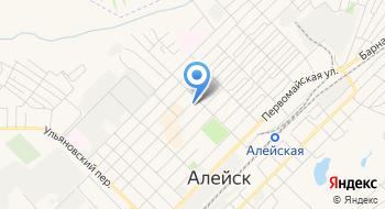 Отделение почтовой связи Алейск 658130 на карте
