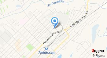 Отделение почтовой связи Алейск 658133 на карте