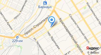 Отделение почтовой связи Барнаул 656031 на карте