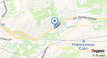 Новокузнецкий военизированный горноспасательный отряд Филиал на карте