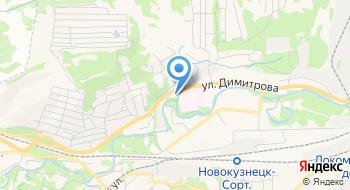 Пожарная часть №15 11 отряд Федеральной противопожарной службы по Кемеровской области на карте