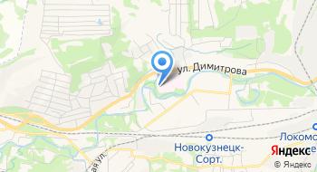 Детская поликлиника №1 на карте