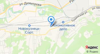 Теплицы Кузбасса на карте