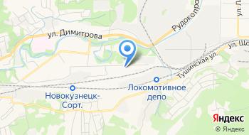 Учебный центр профессиональных квалификаций, Новокузнецкое представительство на карте