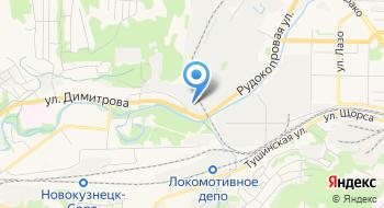 Кузбасстрансмет на карте