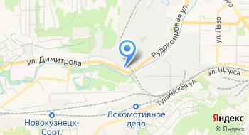 Новокузнецкий котельный завод на карте