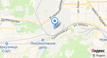 РСА на карте