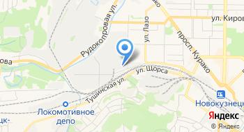 Интернет-магазин Powertomsk, пункт выдачи на карте