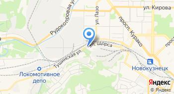 Сибирь-Эксперт на карте