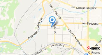Ниа-Кузбасс на карте