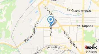 Государственный архив Кемеровской области в г. Новокузнецке на карте