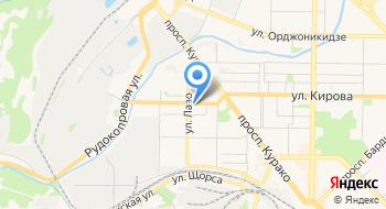 Альпстройкузбасс на карте