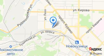 Оборудование Сибири на карте