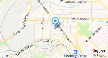 Новокузнецкий строительный техникум на карте