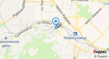 РЖД Новокузнецкая дистанция пути на карте