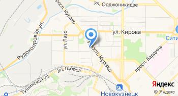 Столовая Южкузбассуголь на карте