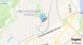 Сибирский центр Стекла-Новокузнецк на карте
