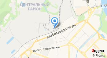 Новокузнецкий вагоностроительный завод на карте
