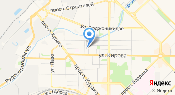 УРАЛСИБ банк Операционный офис Новокузнецкий на карте