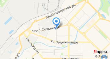 Сибирский отель на карте