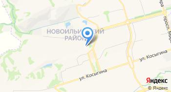 Новокузнецкий дом-интернат для престарелых и инвалидов № 2 на карте