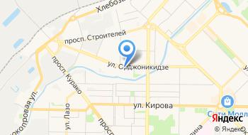Сибирское Управление Федеральной службы по экологическому, технологическому и атомному надзору на карте