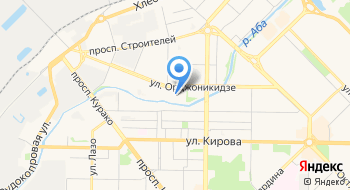 Новокузнецкий противотуберкулезный диспансер на карте