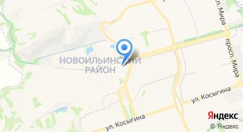 Отдел образования Новоильинского района Комитета образования и науки Администрации на карте