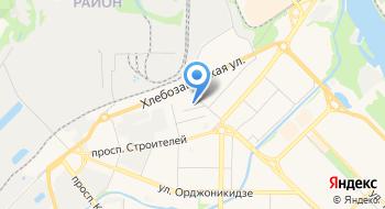 Пожарно-спасательная часть № 1 11 отряд ФПС по Кемеровской области на карте